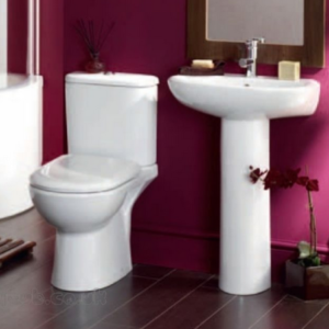 Toilet and Basins