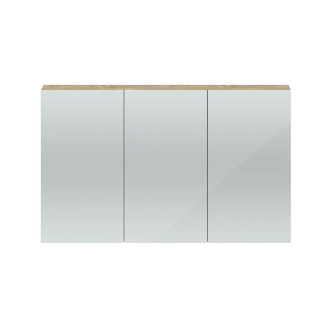Quartet Wall Hung Mirorr Cabinet From Hudson Reed