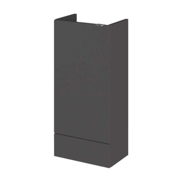 Fusion Single Fitted Slimline 400mm Base Unit From Hudson Reed
