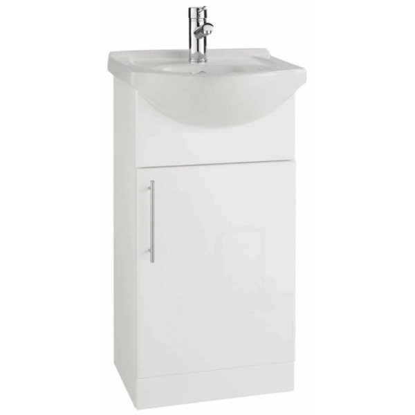The Impakt 450mm Cabinet With Basin From Kartell