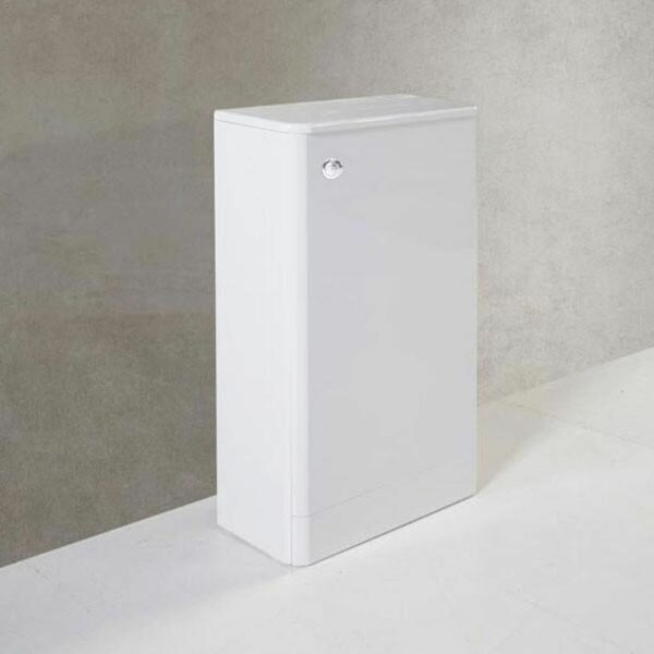 Options 500mm WC Unit With Concealed Cistern White from Kartell