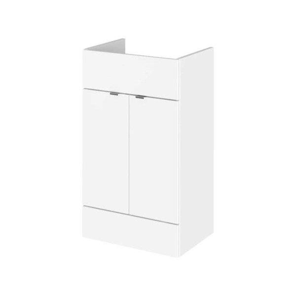 Fusion Single Fitted Full Depth 500mm Vanity Unit From Hudson Reed
