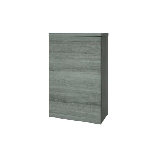 The Purity Grey Ash 505mm WC Unit From Kartell
