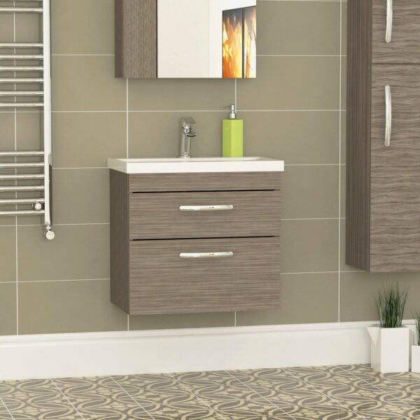 The Athena 600mm Two Drawer Cabinet From Premier Bathrooms