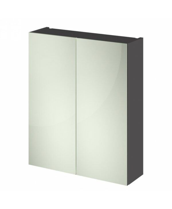 Quartet Wall Hung 600mm Mirror Cabinet From Hudson Reed