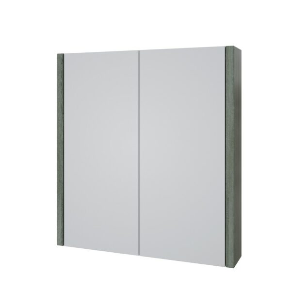 The Purity 600mm Grey Ash Mirror Cabinet From Kartell