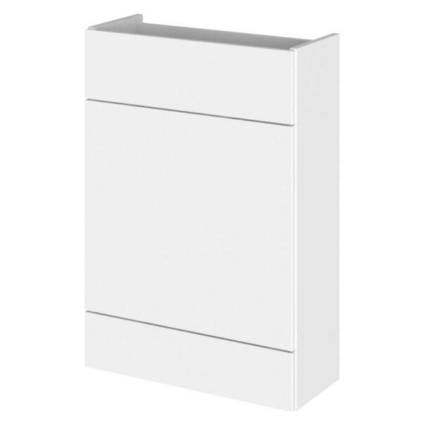 Fusion Single Fitted Slimline 600mm WC Unit From Hudson Reed