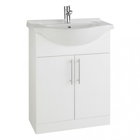 The Impakt 650mm Cabinet With Basin From Kartell