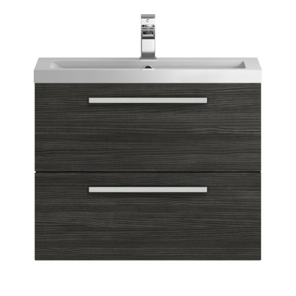 Quartet Wall Hung 720mm Cabinet And Basin From Hudson Reed