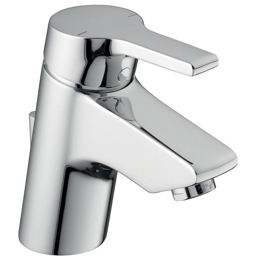 Concept Blue Single Lever Basin Mixer with PUW