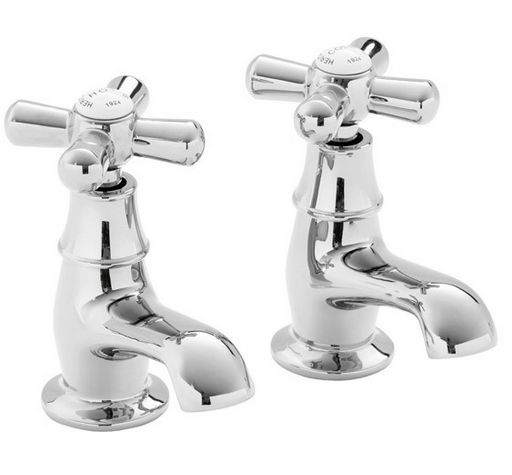 Classic Basin Pillar Taps from Waterfont