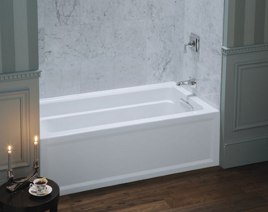 The Neso Square Acrylic Bath From Arley Bathrooms