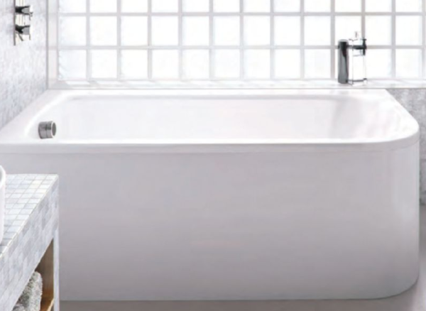 The Viride Offset Bath From Pure Bathrooms