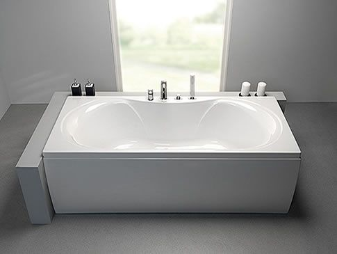 Arc Duo double ended Bath From Eastbrook Bathrooms