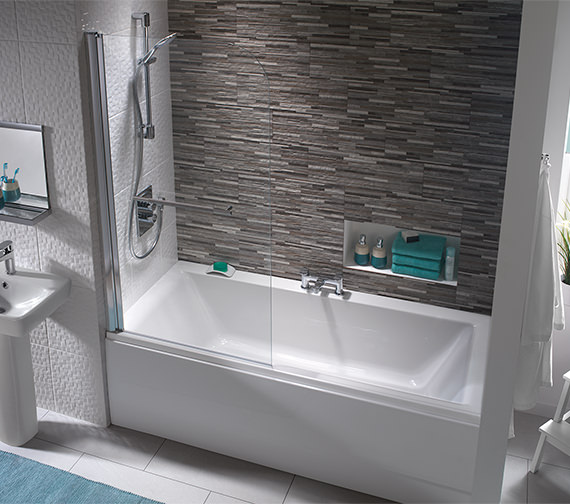 Athena Double Ended Bath From Twyford Bathrooms