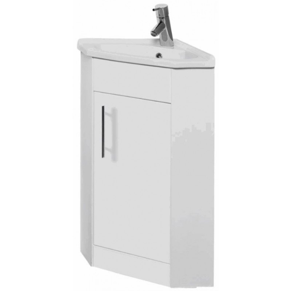 The Impakt Corner Cabinet With Basin From Kartell