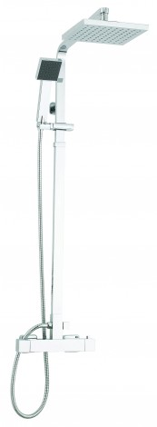 Duo Square Shower From Pure Bathrooms