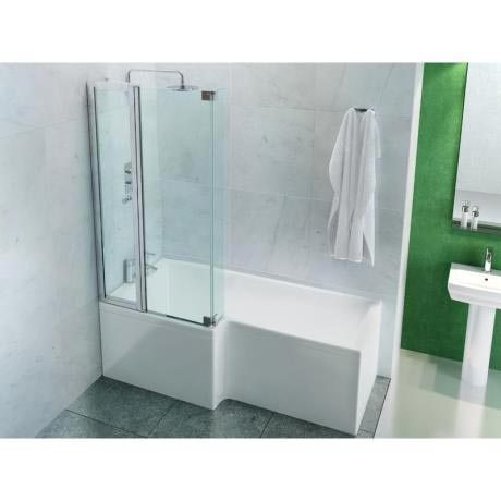 Ecosquare Shower Bath From Pure Bathrooms