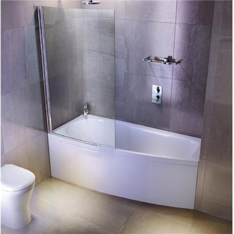 Ecocurve Shower Bath From Pure Bathrooms