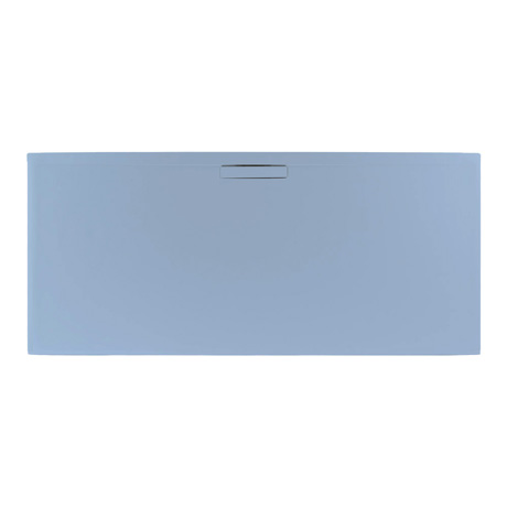 Evolved Pastel Blue Rectangle Shower Tray From JT