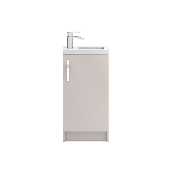 Apollo Compact Floor Standing 400mm Cabinet From Hudson Reed