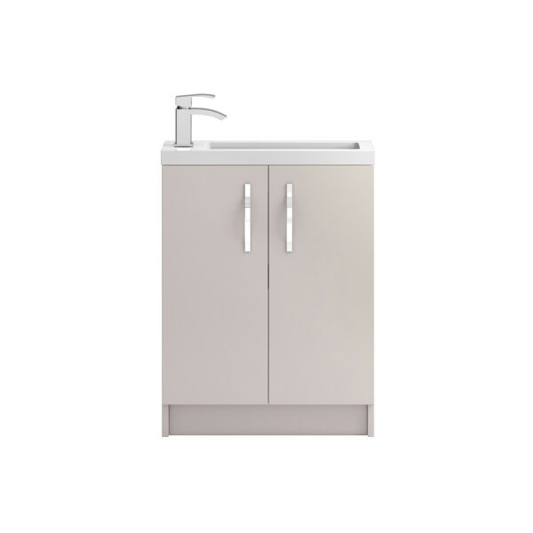 Apollo Compact Floor Standing 600mm Cabinet From Hudson Reed