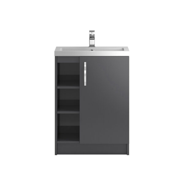 Apollo Free Standing Open 600mm Cabinet From Hudson Reed