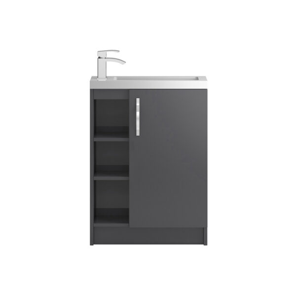 The Apollo Compact Floor Standing Open 600 Cabinet From Hudson Reed