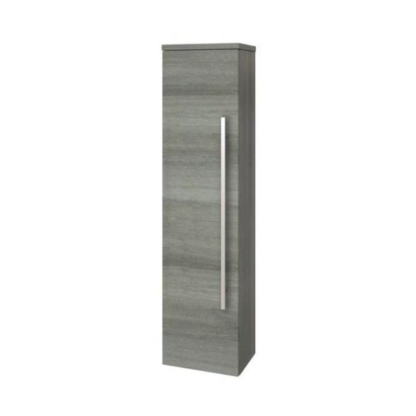 The Purity Wall Mounted Side Unit Grey Ash From kartell