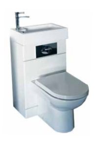 Futura WC Basin Pack With D Shaped WC