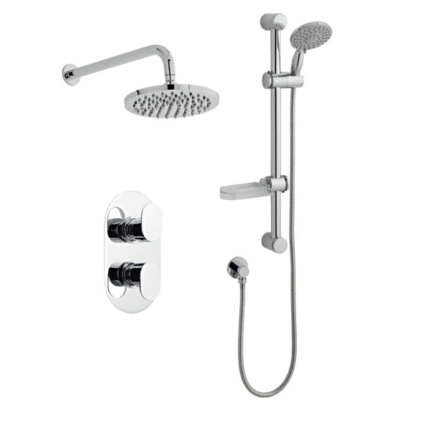 Logik Option Three Thermostatic Shower From Kartell Bathrooms