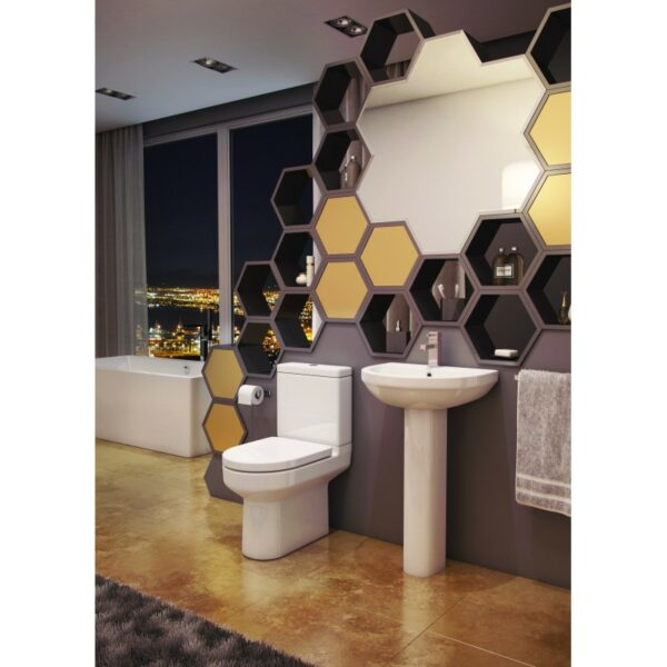 Revive 4 Piece Rounded Set from Kartell bathrooms