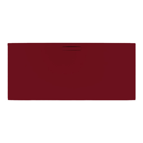The Evolved Malbec Red Rectangle Shower Tray From JT