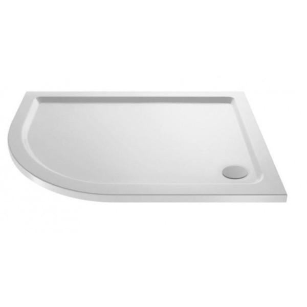 Pearlstone Offset Quadrant Shower Tray From Ultra