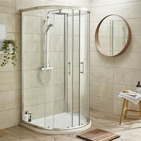 Pacific D-Shaped Shower Enclosure From Ultra