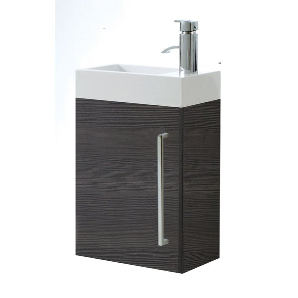Fusion Petite Wall Hung Cloakroom Unit From Pure