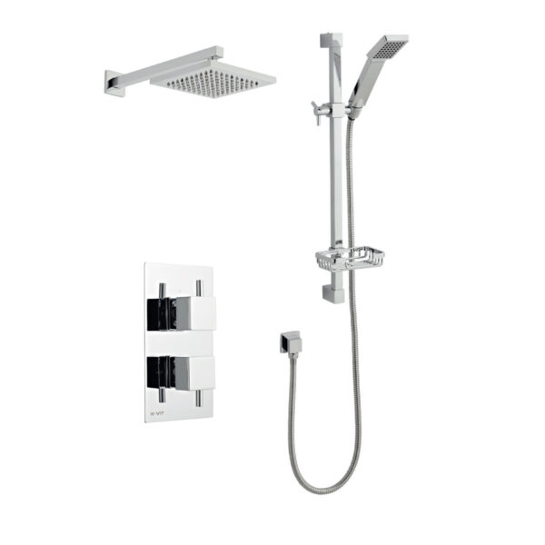 Pure Option Three Thermostatic Shower From kartell Bathrooms