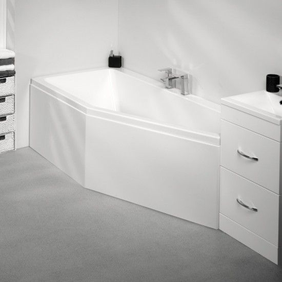 The Quantum Space Saver Bath From Eastbrook Bathrooms