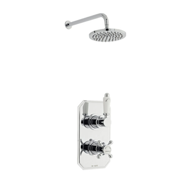 Viktory Option Two Thermostatic Shower From Kartell Bathrooms