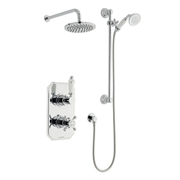 Viktory Option Three Thermostatic Shower From Kartell Bathrooms