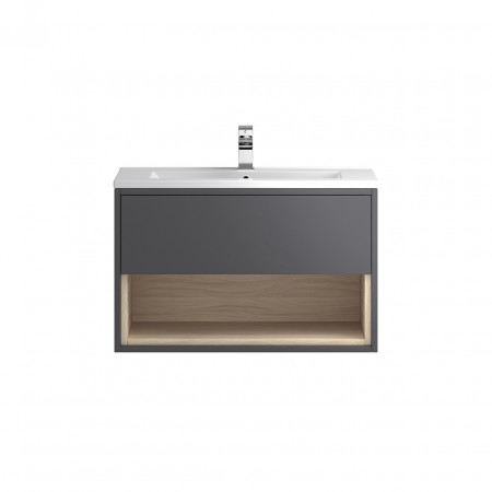 Coast Wall Hung 800mm Cabinet From Hudson Reed
