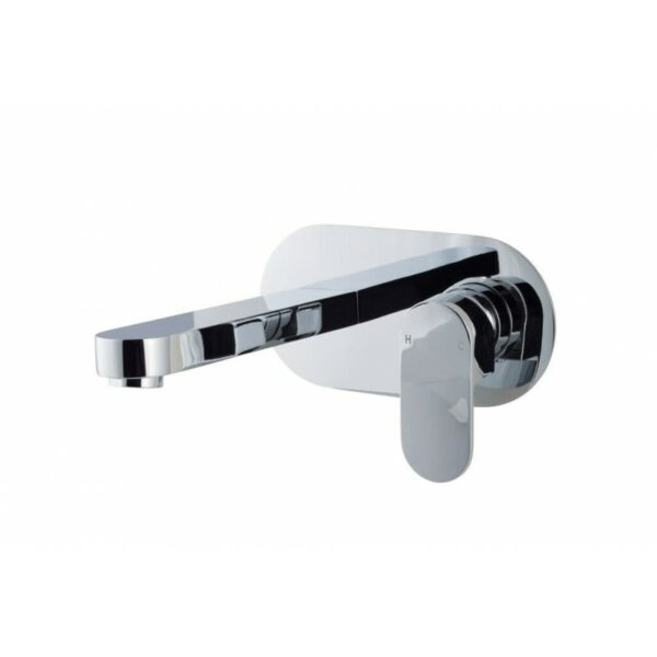 Filo Wall Mounted Basin Mixer by Cassellie Bathrooms